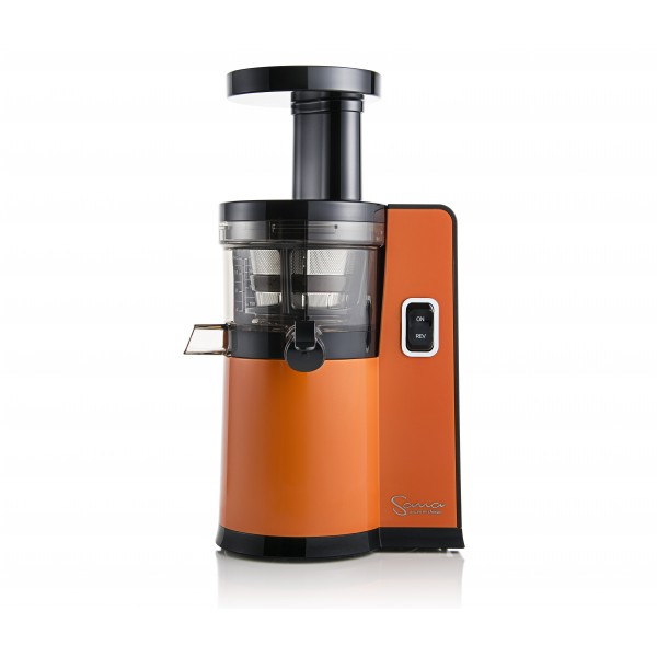 Melhor Slow Juicer Do Mercado : Sana by Omega EUJ-808O Laranja - JUICERS PORTUGAL